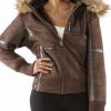 Women's Pelle Pelle Wing Faux Shearling Jacket