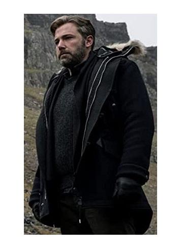 Zack Snyder's Justice League Ben Affleck Hoodie Jacket