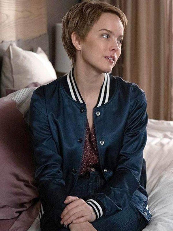 A Million Little Things Allison Miller Blue Varsity Jacket