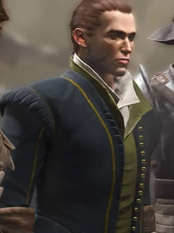 Video Game Greedfall Vasco Jacket