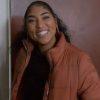 TV Series Chicago Fire S09 Adriyan Rae Orange Puffer Jacket