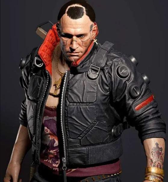 Cyberpunk 2077 Game Bomber Jacket Jackie Welles