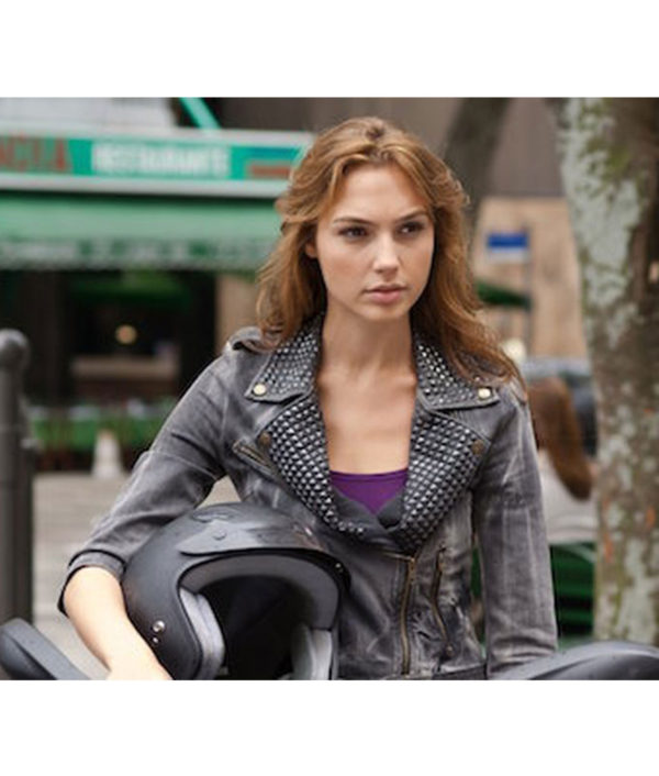 Gal Gadot Fast And Furious 9 Studded JacketS