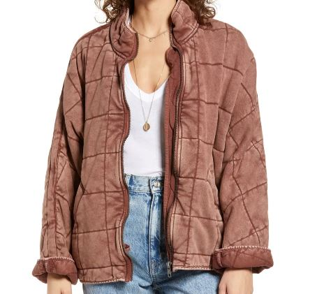 Necar ZadeganHannah Khoury NCIS New Orleans Pink Quilted Jacket