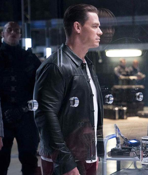 Jakob Toretto Fast and Furious 9 John Cena Black Leather Jacket