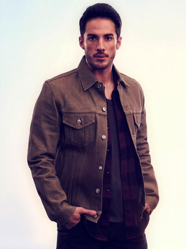 Kyle Valenti Roswell New Mexico Brown Jacket