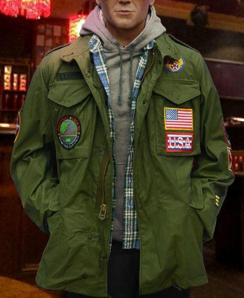 Clarence (Christian Slater) True Romance M-65 Field Jacket