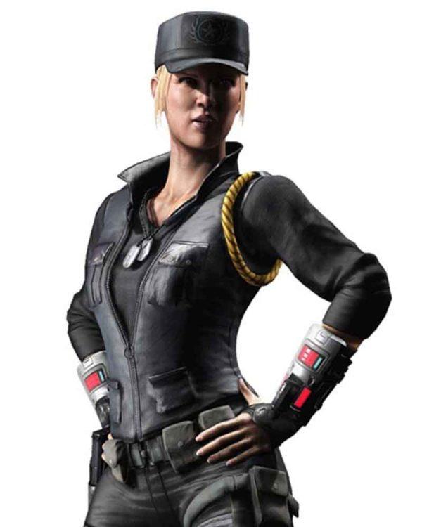 Sonya-Blade-Mortal-Kombat-X-Soldier-Leather-Vest