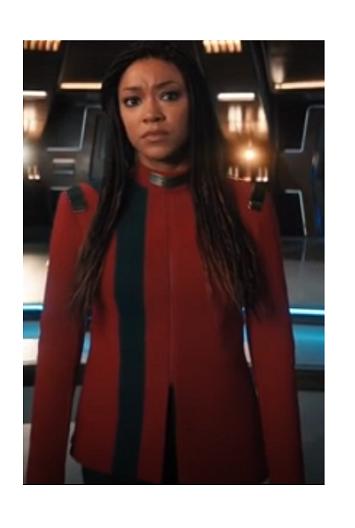 Star Trek Season 4 Sonequa Martin Red Jacket