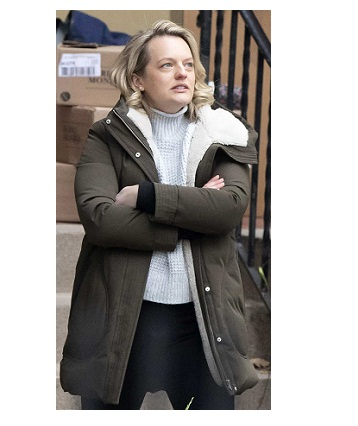 The Handmaid's Tale S04 Elisabeth Moss Hooded coat