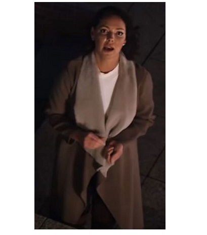 Firefly Lane Tully Katherine Heigl Brown Coat