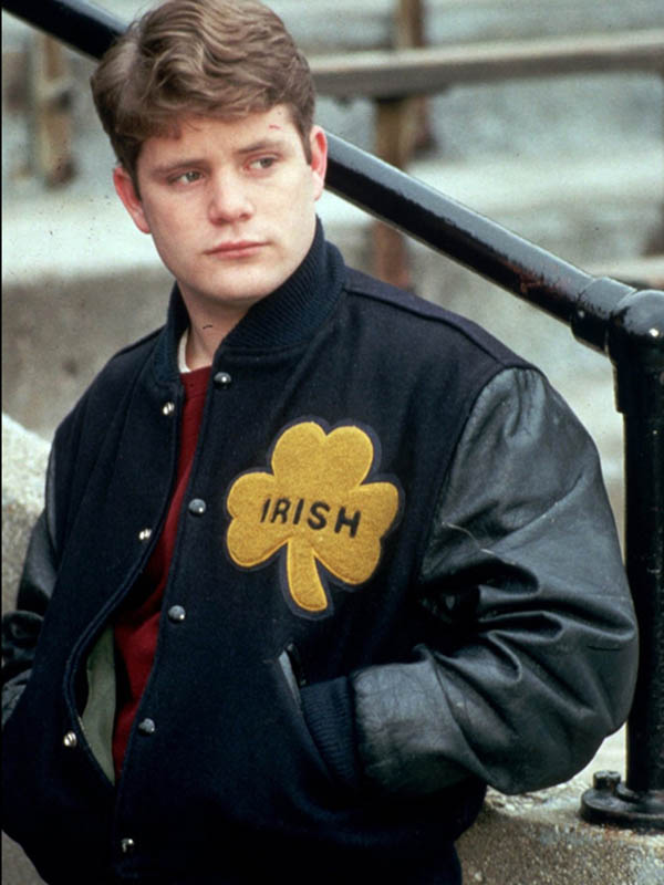 University of Notre Dame Rudy Irish Varsity Jacket
