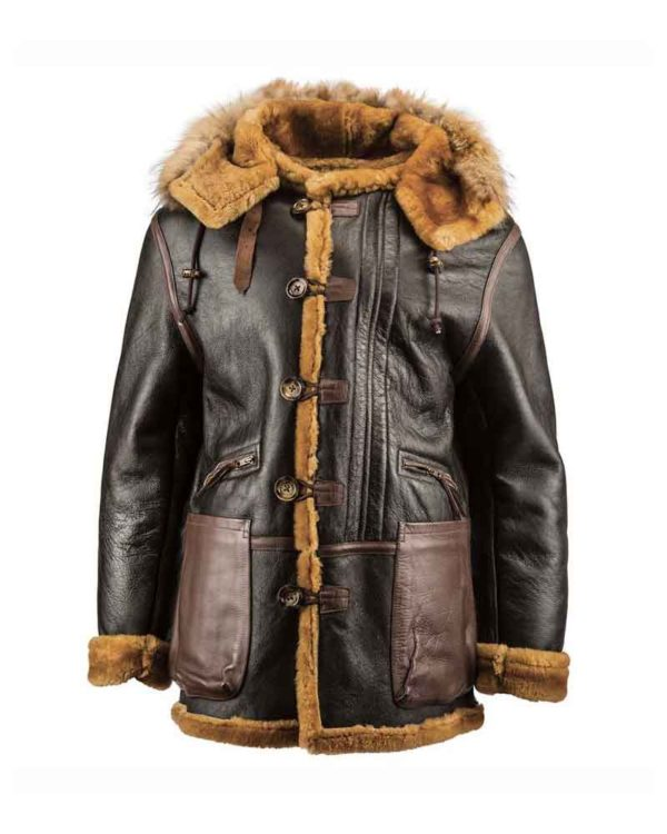 WWII B-7 Flying Parka Leather Jackets