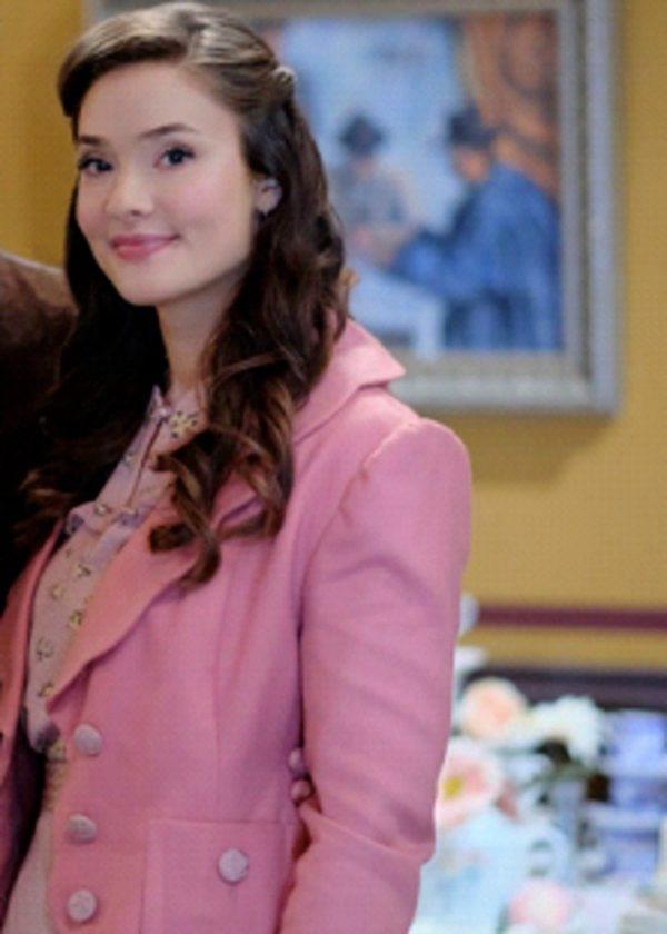 When Calls The Heart Eva Bourne Pink Coat