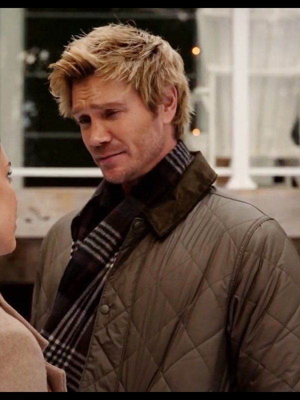 Too Close For Christmas Chad Michael Murray Quilted Jacket