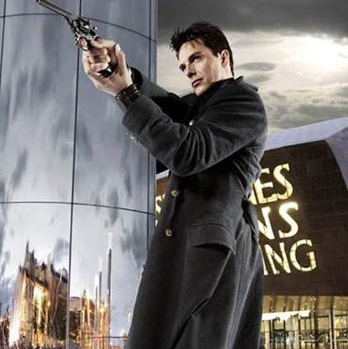 Torchwood Captain Jack Harkness Wool Trench Coat