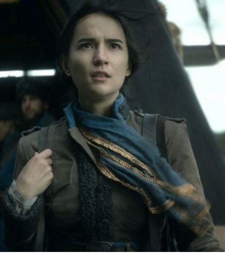 Alina Starkov Shadow and Bone Jessie Mei Li Leather Jacket