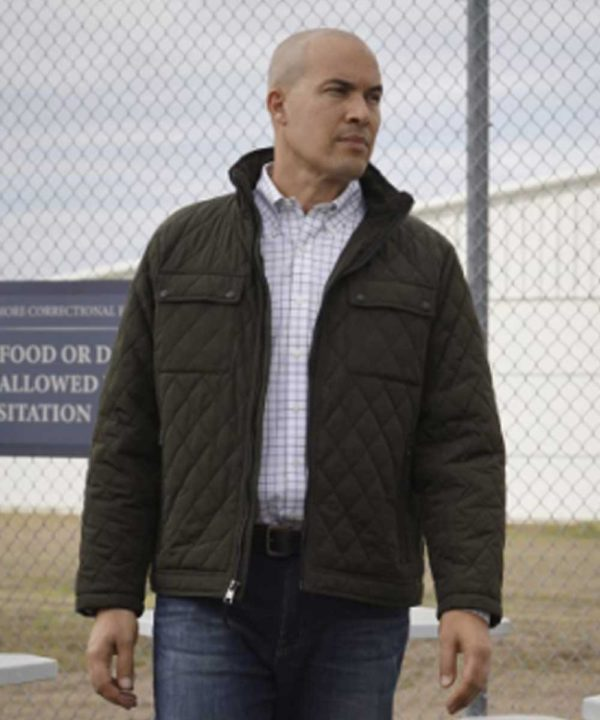 Coby Bell TV Series Walker (2021) Larry James Quilted Jacket