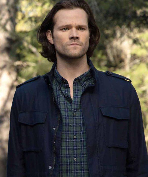 TV Series Walker Jared Padalecki(2021) Cordell Walker Blue Cotton Jacket