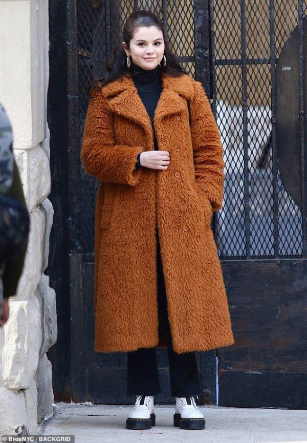 Only Murders In The Building Selena Gomez Coat