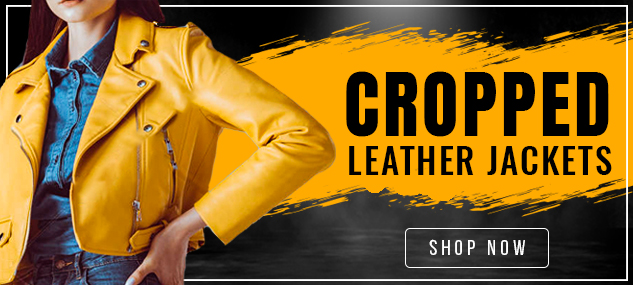 Cropped Leather Jackets