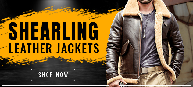 Shearling Leather Jackets 2021
