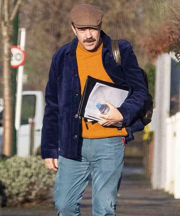 Jason Sudeikis Ted Lasso Blue Jacket