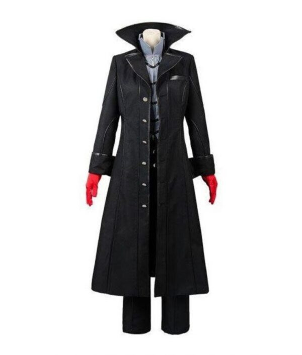 Joker Persona 5 Leather Coat
