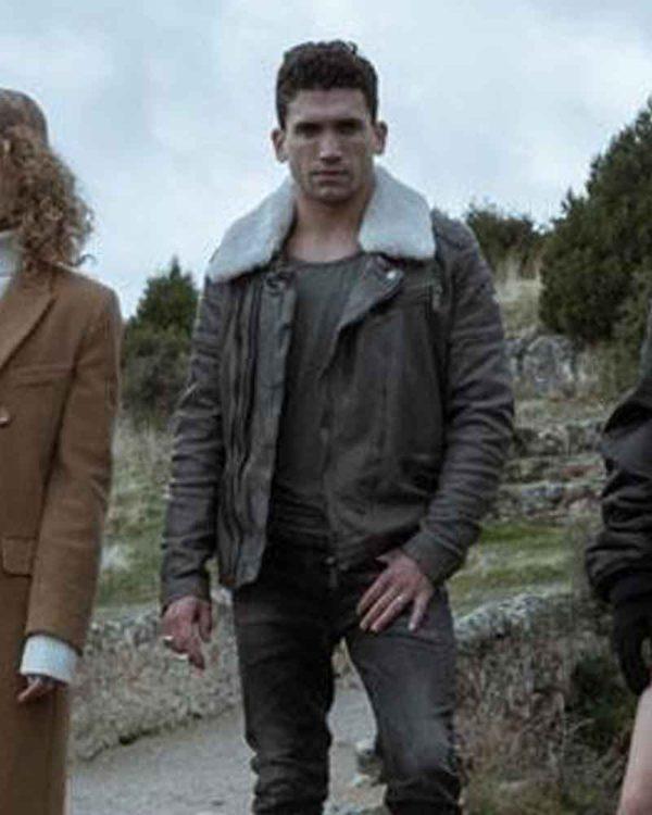 Money Heist Denver Brown Leather Jacket