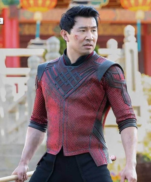 Shang-Chi and the Legend of the Ten Rings 2021 Simu Liu Leather Jacket