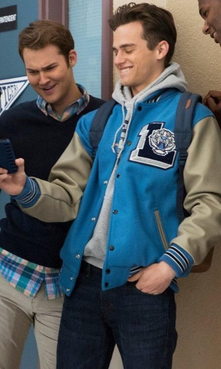 13 Reasons Why Letterman Blue Jacket