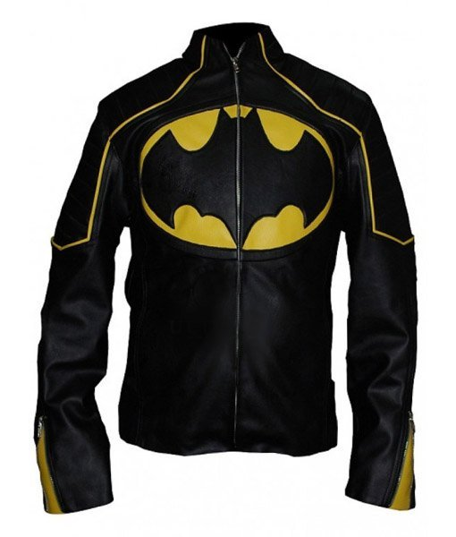 Batman Lego Black Leather Jacket