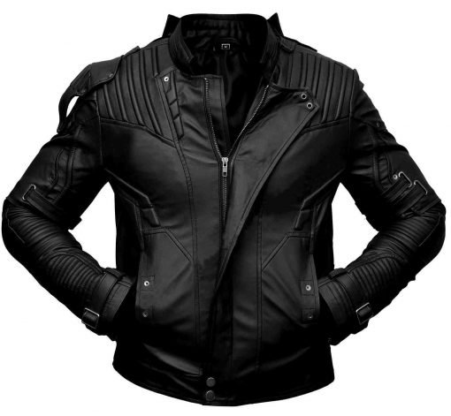 Chris Pratt Star Lord Leather Jacket