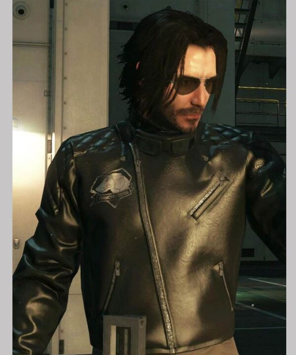 Cyberpunk 2077 Johnny Silverhand Black Jacket