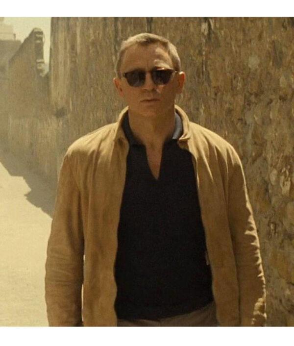 Daniel Craig Spectre Morocco Leather Jacket