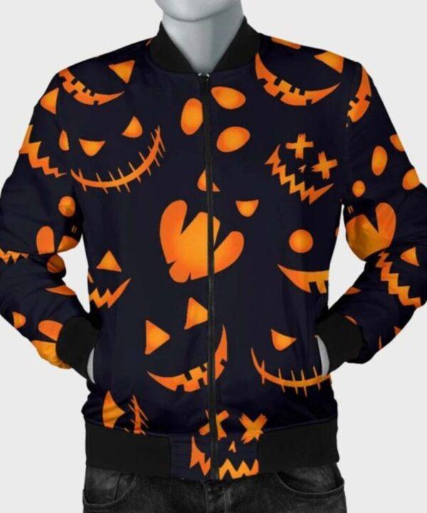 Halloween Pumpkins Pattern Jacket