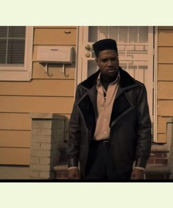 Power Book III Marvin Black Leather Jacket