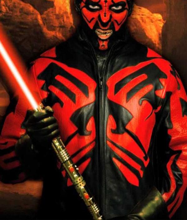 Star Wars Darth Maul Red and Black Jacket