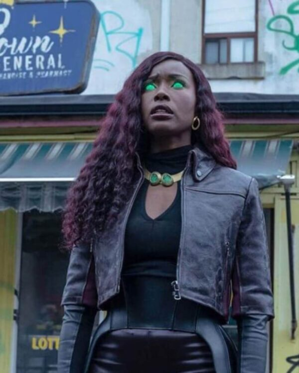 Titans S03 Kory Anders Leather Jacket